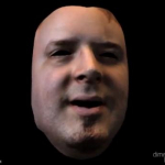 Markerless 4D Facial Motion Capture