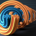 CINEMA 4D – Formula Object + Wireframe + DOF Test