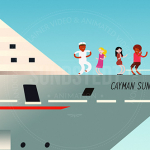 New 2D Animated Music Video – Cayman Dance